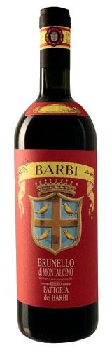 Brunello di Montalcino Riserva Fattoria dei Barbi 1999